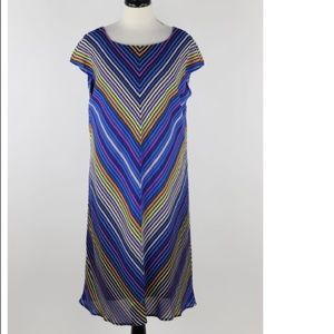 THE LIMITED patterned dress Size XL